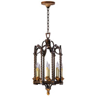 San Giorgio 8 Light 14 inch Oiled Bronze Foyer Pendant Ceiling Light