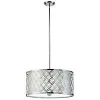 Cyan Design 04656 Dauphine 5 Light 23 inch Chrome Pendant Ceiling Light Large