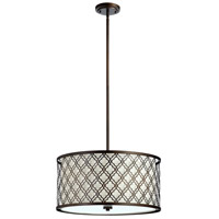 Cyan Design 04658 Byzantine 5 Light 23 inch Oiled Bronze Pendant Ceiling Light Large