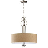 Cyan Design 04678 Auburn 4 Light 24 inch Satin Nickel Pendant Ceiling Light