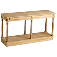 Cassidy 59 X 18 inch Natural Wood Console Home Decor