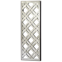 Mirrored Old World Wall Decor, Rectangular
