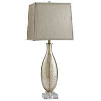 Coco 27 inch 14 watt Golden Crackle Table Lamp Portable Light