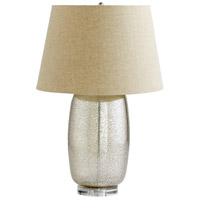 Glass Linen Table Lamps