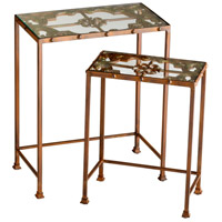 Gunnison 20 X 11 inch Rust Nesting Table Home Decor