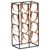 Cyan Design 04915 Brighton Raw Steel Wine Holder, Large