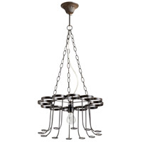 Winey 1 Light 17 inch Bronze Chandelier Ceiling Light