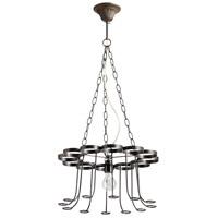 Cyan Design 05095 Winey 1 Light 17 inch Bronze Chandelier Ceiling Light