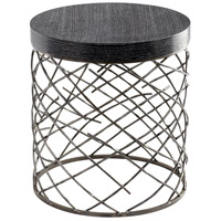 Marlow Raw Steel Table Home Decor
