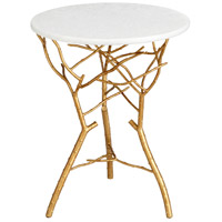 Langly Gold Leaf Table Home Decor