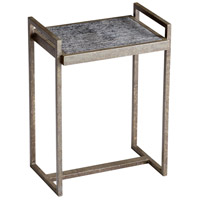 Padgett 20 X 14 inch Raw Iron and Natural Wood Table Home Decor