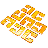Cyan Design 05124 Havilland Orange Glass Links For 04981