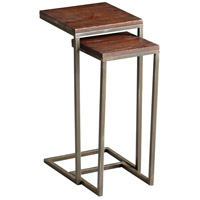 Kirby 14 X 14 inch Walnut and Graphite Table Home Decor
