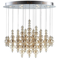 Cyan Design 05280 Bubbles 8 Light 40 inch Chrome Pendant Ceiling Light