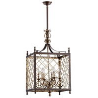 Richmond 6 Light 19 inch Oxide Pendant Ceiling Light
