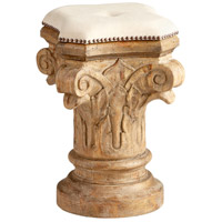 Doyle 24 inch Limed Gracewood Stool