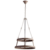 Cyan Design 05312 Double 1 Light 20 inch Rustic Chandelier Ceiling Light