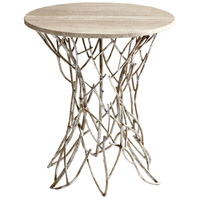 Cyan Design 05457 Twigs 22 inch Antique Silver Side Table