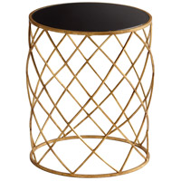 Cyan Design 05466 Wimbley 17 inch Gold Side Table