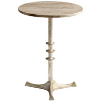 Cyan Design 05472 Hyde 18 inch Antique Silver Side Table