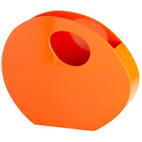Mulholland Orange Lacquer Container