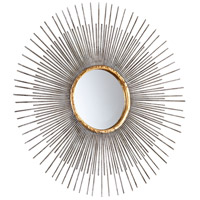 Cyan Design 05537 Pixley Antiqued Silver Leaf Wall Mirror, Small