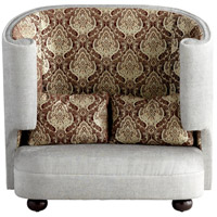 Cyan Design 05556 The Tunnel Of Love Grey and Patterned Fabric Chair