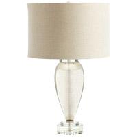 Cyan Design 05563-1 Hatie 14 watt Gold and Amber Table Lamp Portable Light