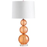 Cyan Design 05571-1 Beale 14 watt Orange Table Lamp Portable Light