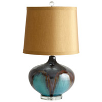 Gough 31 inch 100 watt Brown - Bronze - Rust Table Lamp Portable Light