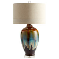 Cyan Design 05574 Hayes 35 inch 100 watt Brown - Bronze - Rust Table Lamp Portable Light
