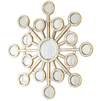 Orion Clear and Gold Mirror Home Decor