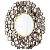 Jorn Clear and Gold Mirror Home Decor