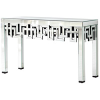 Psara 56 X 20 inch Clear Console Table Home Decor