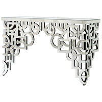 Volos 58 X 18 inch Clear Console Table