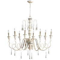 Chantal 8 Light 41 inch Parisian Blue Chandelier Ceiling Light