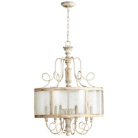 Chantal 6 Light 24 inch Parisian Blue Pendant Ceiling Light