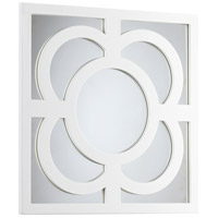Bowsher 24 X 24 inch White Lacquer Mirror Home Decor