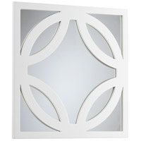 Brodax 24 X 24 inch White Lacquer Wall Mirror