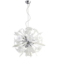 Remy 12 Light 31 inch Chrome Pendant Ceiling Light, Small