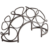 Cyan Design 05815 Bridge Black Bronze Wine Rack