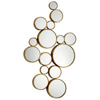 Cyan Design 05825 Bubbles 41 X 24 inch Gold Wall Mirror