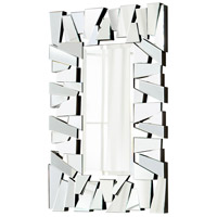 Deconstructed 55 X 36 inch Clear Mirror Home Decor