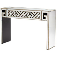 Deco Divide 52 X 16 inch Clear and Gold Console Table
