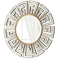 Cleopatra Clear and Gold Mirror Home Decor