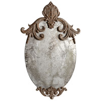 Charlemagne 21 X 12 inch Rustic Wall Mirror