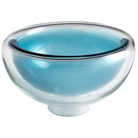 Cinderella Clear and Cobalt Bowl, Large