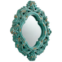 Fairest Of Them All 21 X 16 inch Ancient Blue Mirror Home Decor