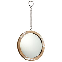 Cyan Design 06158 Through The Looking Glass 22 inch Antique White Wall Mirror