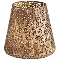 Cyan Design 06210 Filigree Dream Antique Gold Container Large